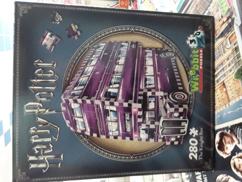 Wrebit Puzzle 3d 280 pezzi the knight bus