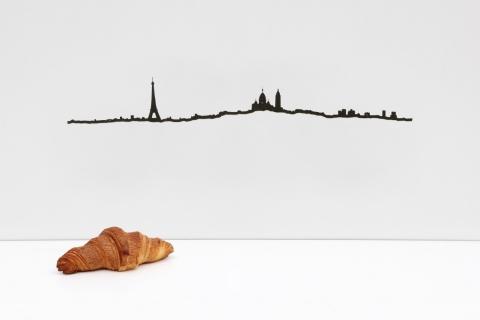 "SKYLINE ""THE LINE"" Città del Mondo - PARIGI"