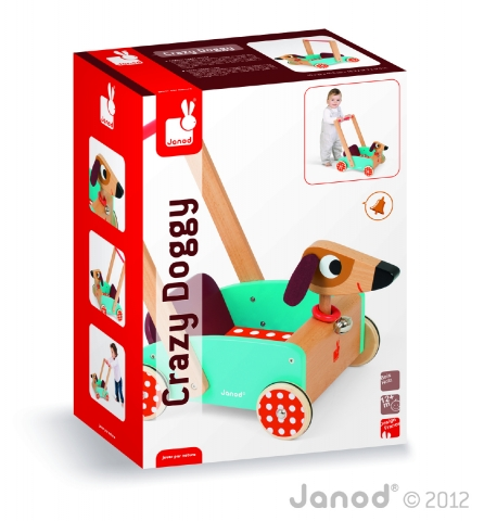 carrello crazy dog janod