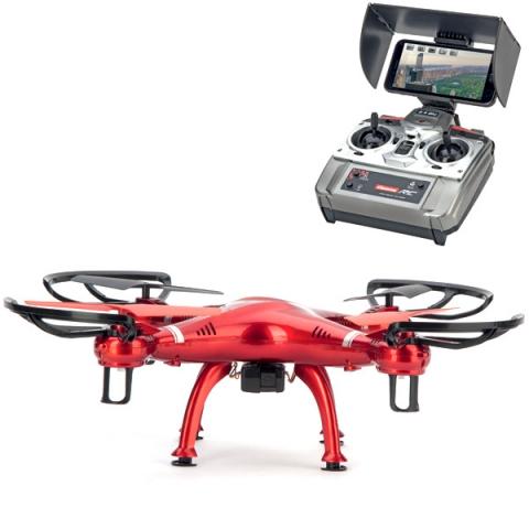 Drone CARRERA RC rosso