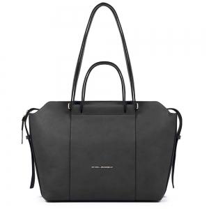 Shopping bag PIQUADRO - Nero