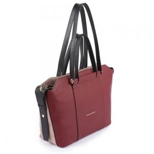 Shopping bag PIQUADRO - Rossa