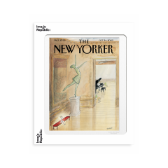 "THE NEWYORKER  STAMPE ""Sempe above all no faux pas"""