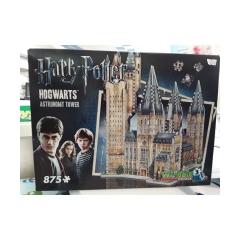 Puzzle wrebit hogwarts 875 pezzi in 3d 14+