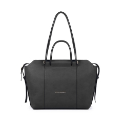 Shopping bag PIQUADRO - Nero