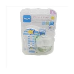 CLIP E COVER, 0 MESI, BPA - BPS free, MAM