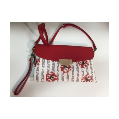Clone of Borsa a tracolla GRACE RED FLOWERS - ATELIER DU SAC