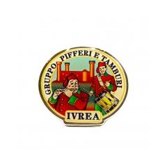 Spilla con logo ufficiale