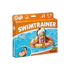 SALVAGENTE, SWIMTRAINER CLASSIC ARANCIO, 2-6 ANNI, 15-30 KG, SWIMTRAINER