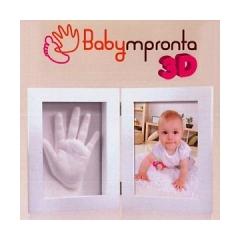 BABY IMPRONTA 3D CON PORTAFOTO