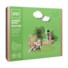 GIGI BLOCKS Costruzioni  in Cartone 60 pz - Gioco 3 anni