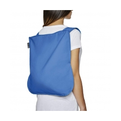 "BORSA E ZAINO ""BAG &BACK PACK""  di NOTABAG BLU"