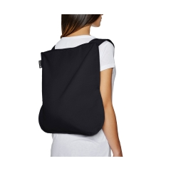 "BORSA E ZAINO ""BAG &BACK PACK""  di NOTABAG NERO"