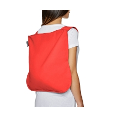 "BORSA E ZAINO ""BAG &BACK PACK""  di NOTABAG ROSSO"