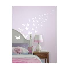 RoomMates - Farfalle e Libellule adesive che si illuminano al buio