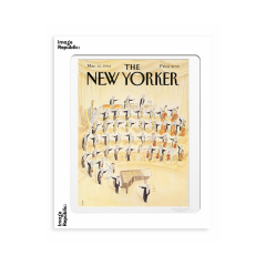 """THE NEWYORKER  STAMPE """"Sempe orchestre"""""""